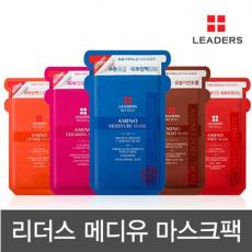 리더스메디유/ 10매입/ 핑크-피부정화/LEADERS/ 맑은광채